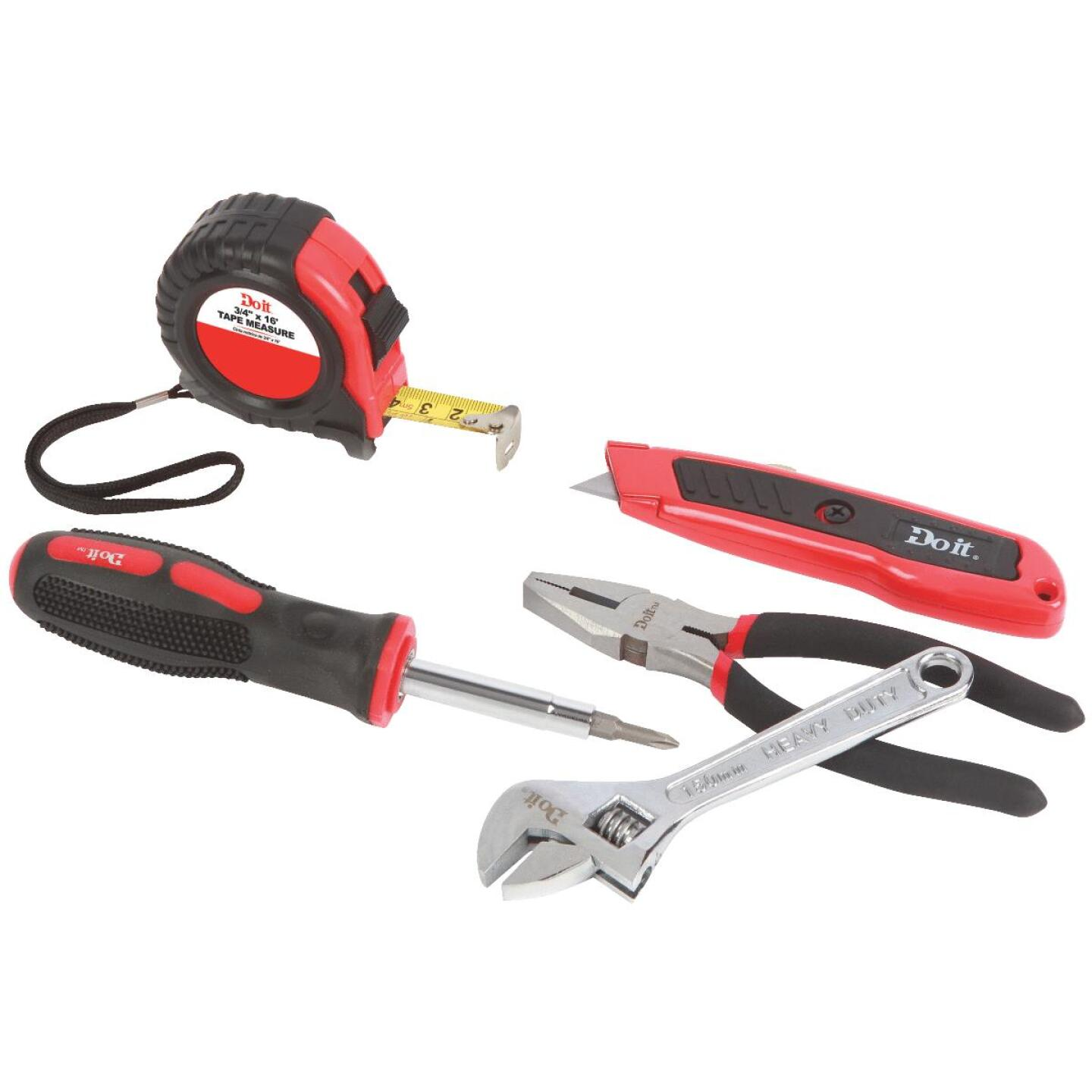 Do it Assorted Tools Home Tool Set (5-Piece) Image 1