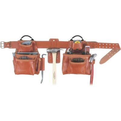 CLC Pro-Framer's 17-Pocket Leather Carpenter Apron (14-Piece)