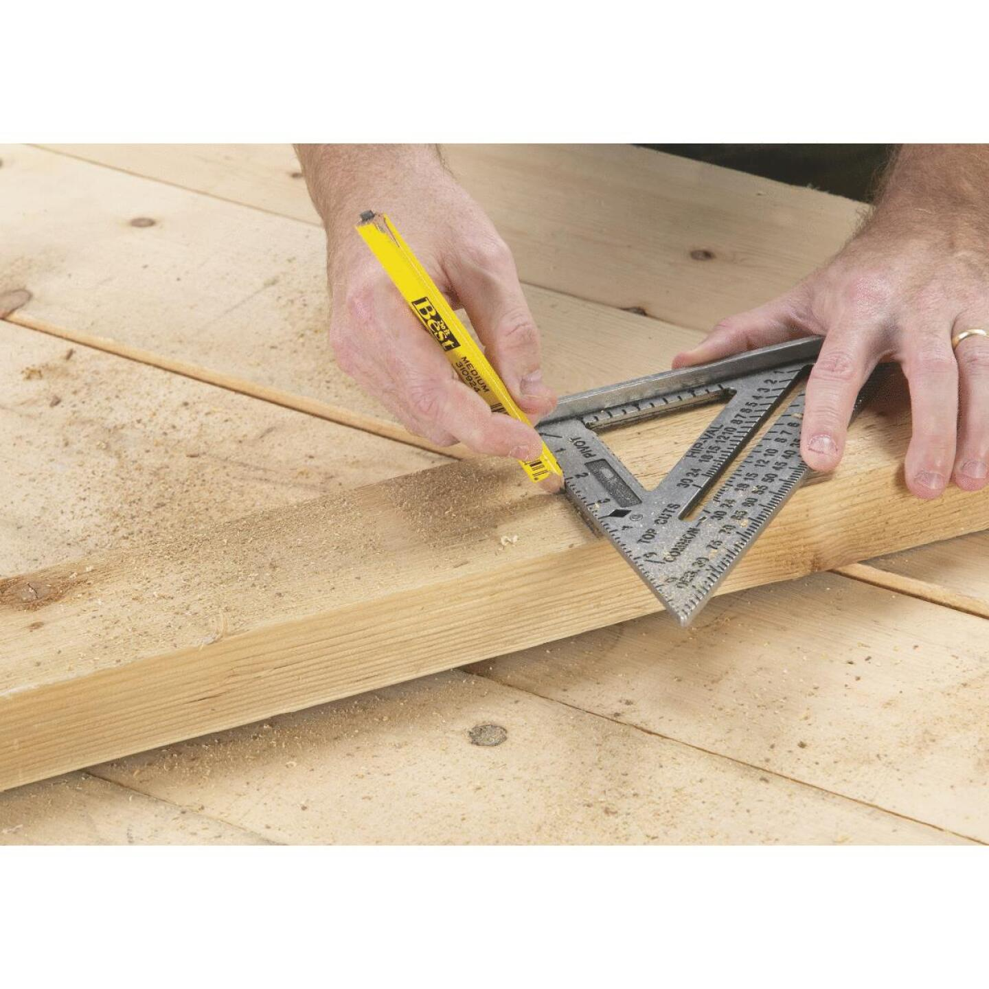 Swanson Speed 7-1/2 In. Aluminum Rafter Square Image 2