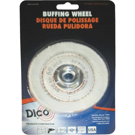 Dico 4 In. x 1/2 In. Buffing Wheel