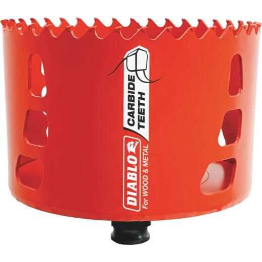 Diablo 4 In. Carbide-Tipped Hole Saw