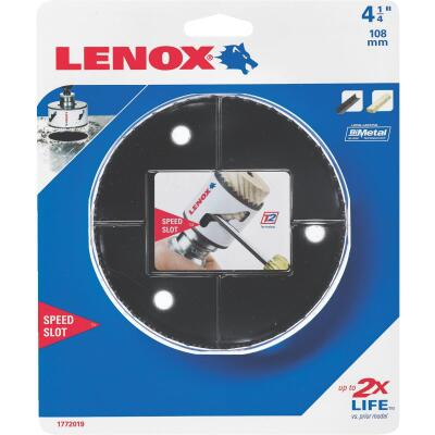 Lenox Speed Slot 4-1/4 In. Bi-Metal Hole Saw