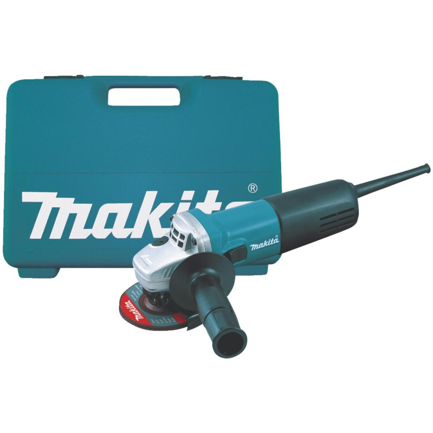 Makita 4 In. 6-Amp Angle Grinder Kit Image 1