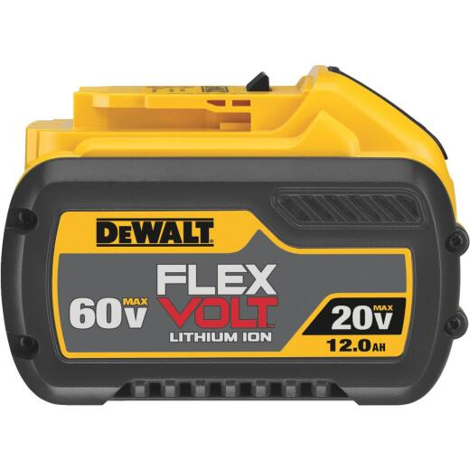 DeWalt Flexvolt 20 Volt and 60 Volt MAX Lithium-Ion 12.0 Ah Tool Battery