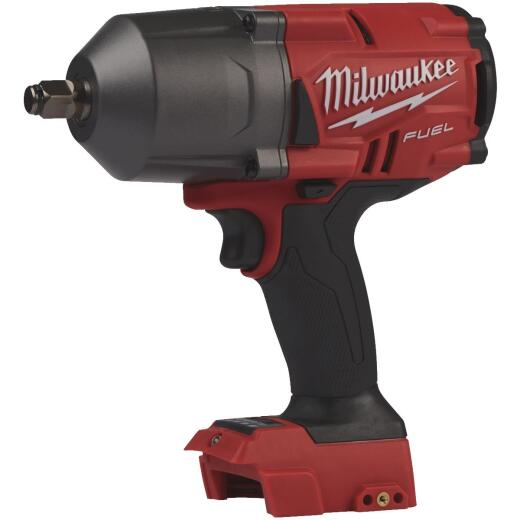 Milwaukee M18 FUEL 18 Volt Lithium-Ion 1/2 In. High Torque Cordless Impact Wrench with Friction Ring - Bare Tool