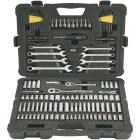 Stanley 1/4 In. & 3/8 In. Drive Master Mechanic & Automotive Tool Set (145-Piece) Image 1
