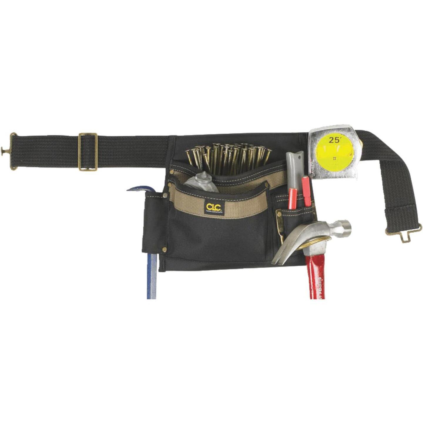 CLC 6-Pocket Polyester & Ballistic Nylon Single Side Carpenter Apron Image 1