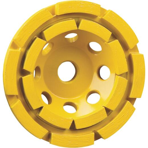 DeWalt 4-1/2 In. Segmented Double Row Cup Wheel