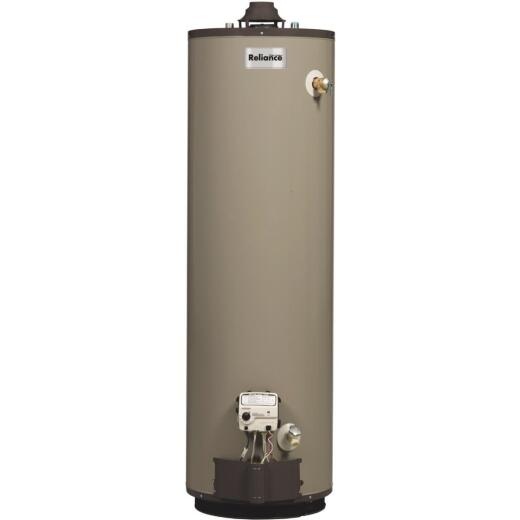 Reliance 50 Gal. Tall 9yr 37,000 BTU Self-Cleaning Liquid Propane (LP) Gas Water Heater