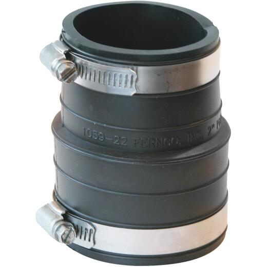 Fernco 4 In. Flexible PVC Coupling