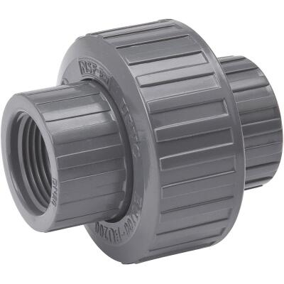 B&K 1/2 In. Threaded Schedule 80 PVC Union
