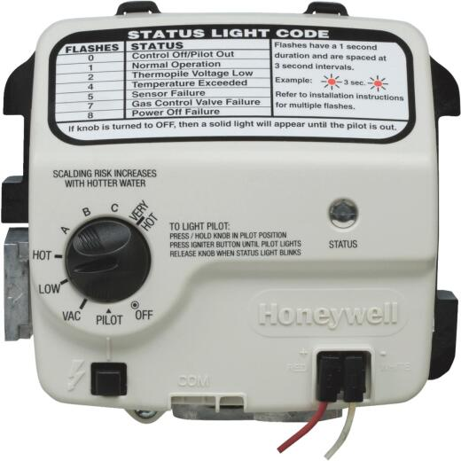 Reliance 400 Series 2 In. Shank Honeywell Electronic Natural Gas Control Valve And Thermostat