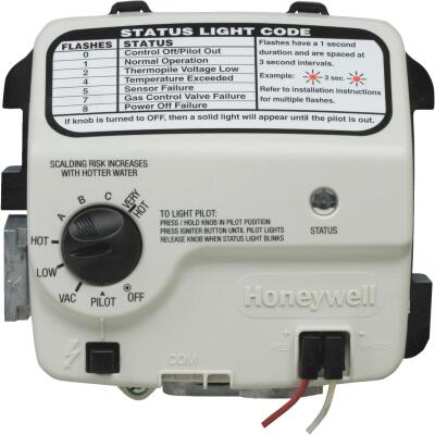 Reliance 301 Series 1 In. Shank Honeywell Electronic LP Gas Control Valve And Thermostat