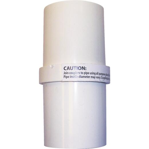 Campbell 1-1/4 In. PVC 40 Inside Coupling