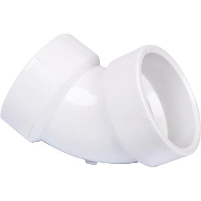 Charlotte Pipe 1-1/2 In. 60D PVC DWV Elbow