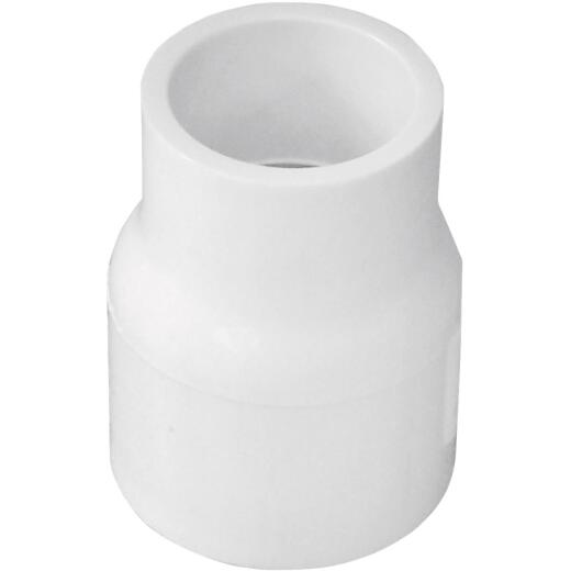 Charlotte Pipe 1 In. X 3/4 In. Sch. 40 Slip X Slip Reducing PVC Coupling