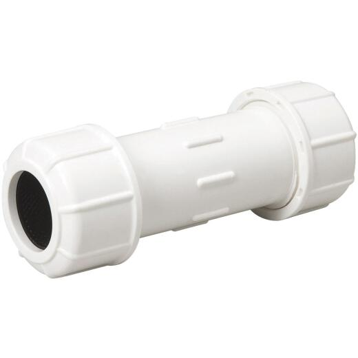B & K 1 In. X 5-1/2 In. Compression PVC Coupling