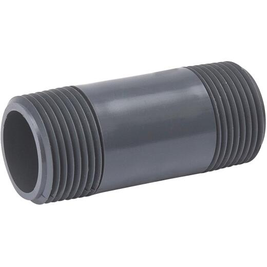 B&K 3/4 In. x 4 In. Schedule 80 PVC Nipple