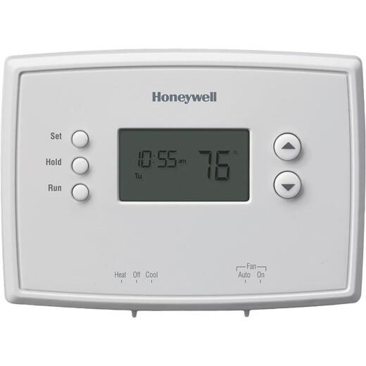 Honeywell 7-Day Programmable Off White Digital Thermostat