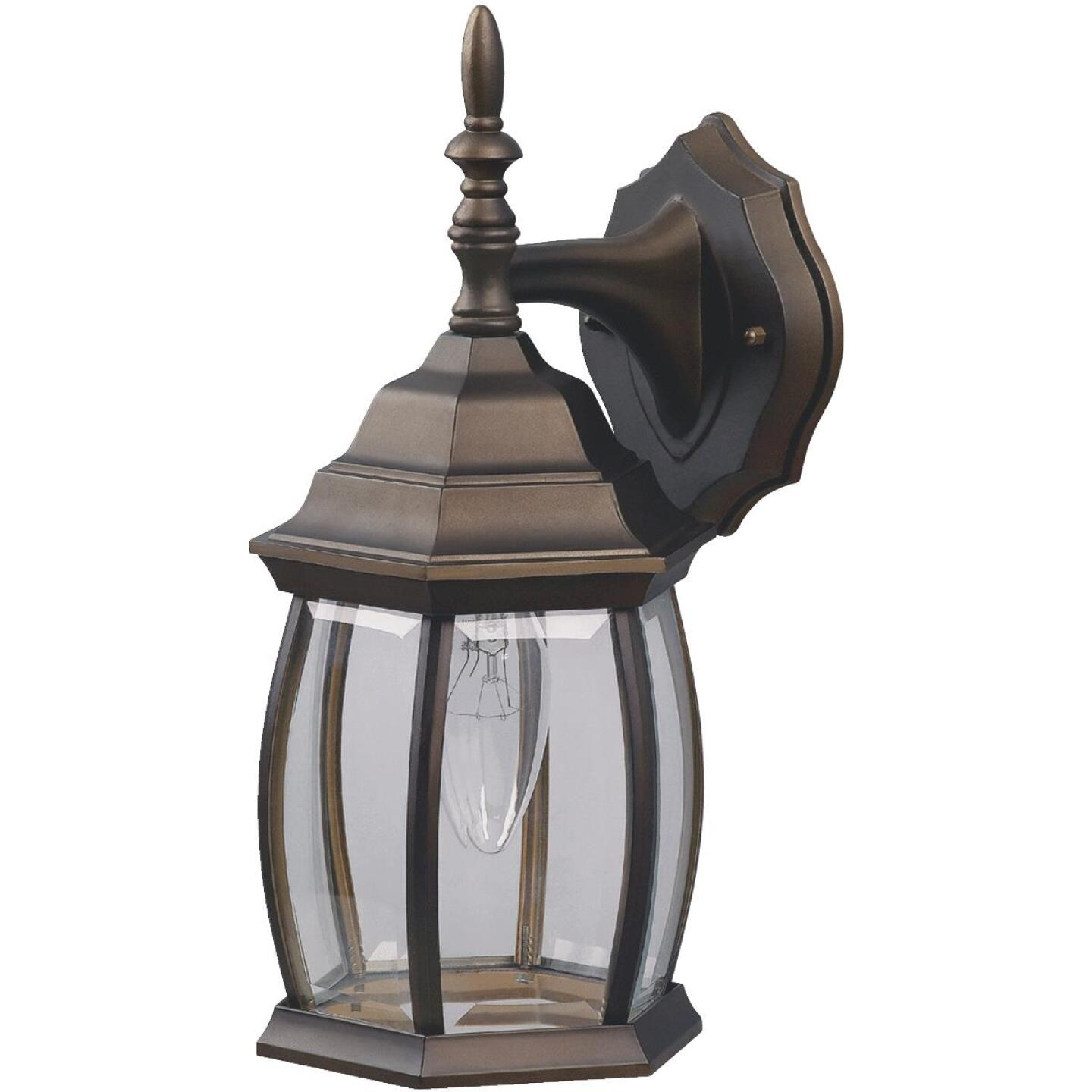 Home Impressions Oil Rubbed Bronze Incandescent Type A or B Outdoor Wall Light Fixture (2-Pack) Image 3