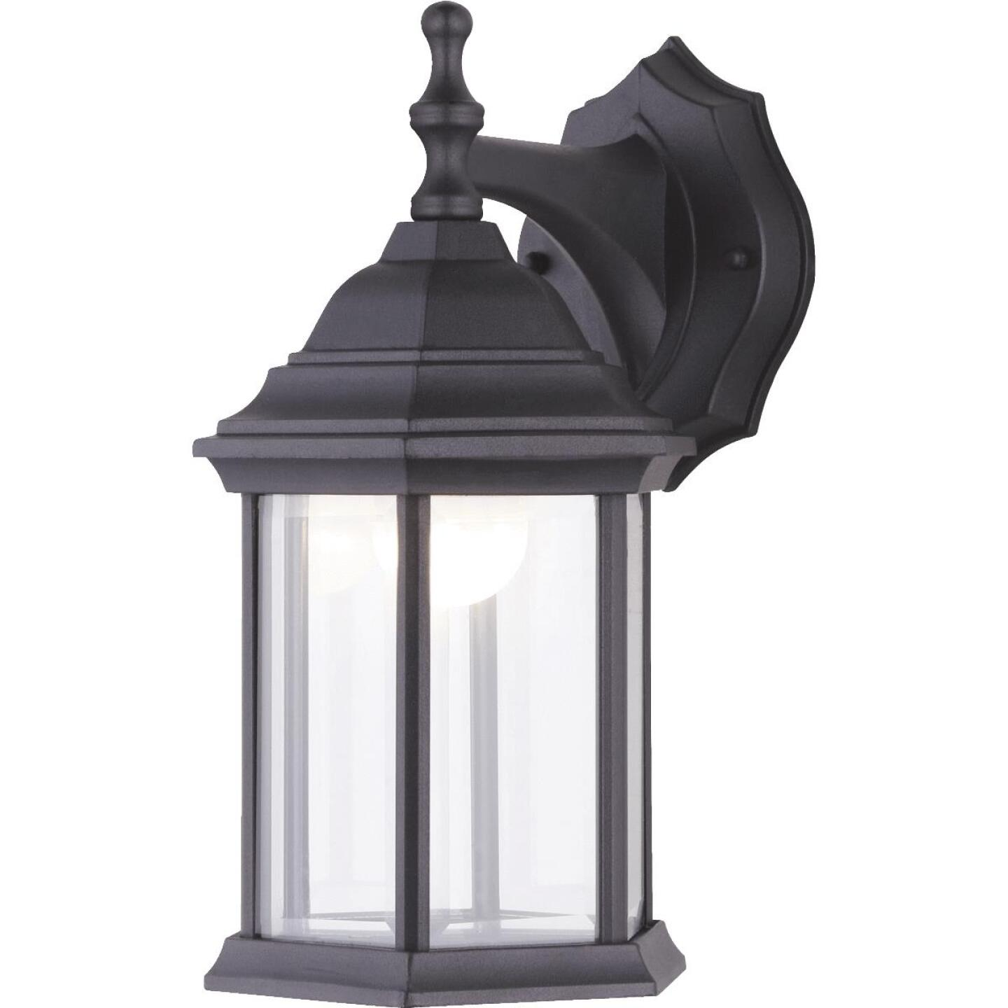 Canarm Black LED Outdoor Wall Fixture Image 1