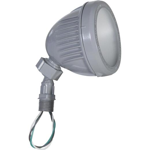 Bell Gray 13W Die-Cast Aluminum Swivel LED Floodlight Outdoor Lampholder