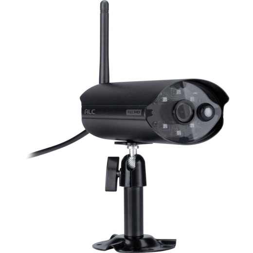 ALC Wireless SightHD Outdoor Black Plug & Play Security Camera