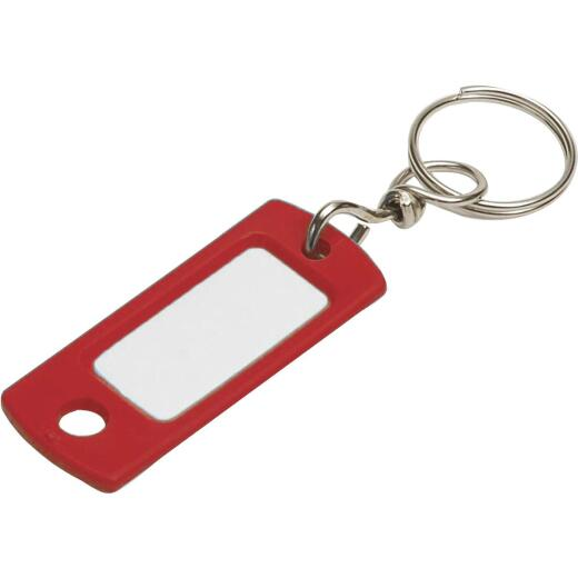Lucky Line Flexible Swivel Plastic Tag 2 In. I.D. Key Tag, (2-Pack)