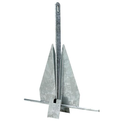Seachoice 8 Lb. Aluminum Coated Galvanized Anchor