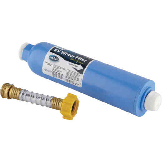 Camco Large Capacity, Durable In-Line RV Water Filter