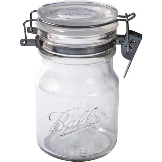 Ball Sure Seal 14 Oz. Wire Bale Decorative Storage Jar
