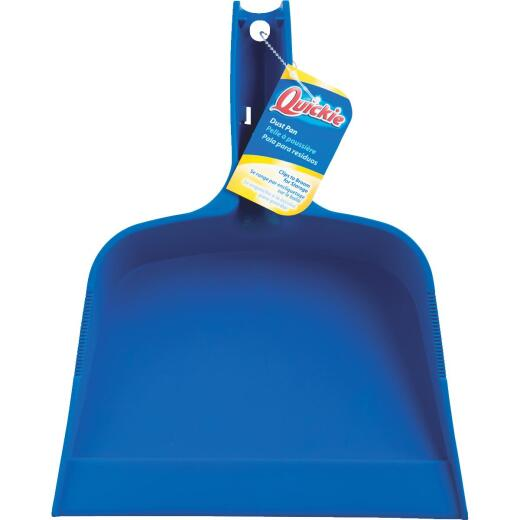 Quickie 10.9 In. Blue Plastic Dust Pan