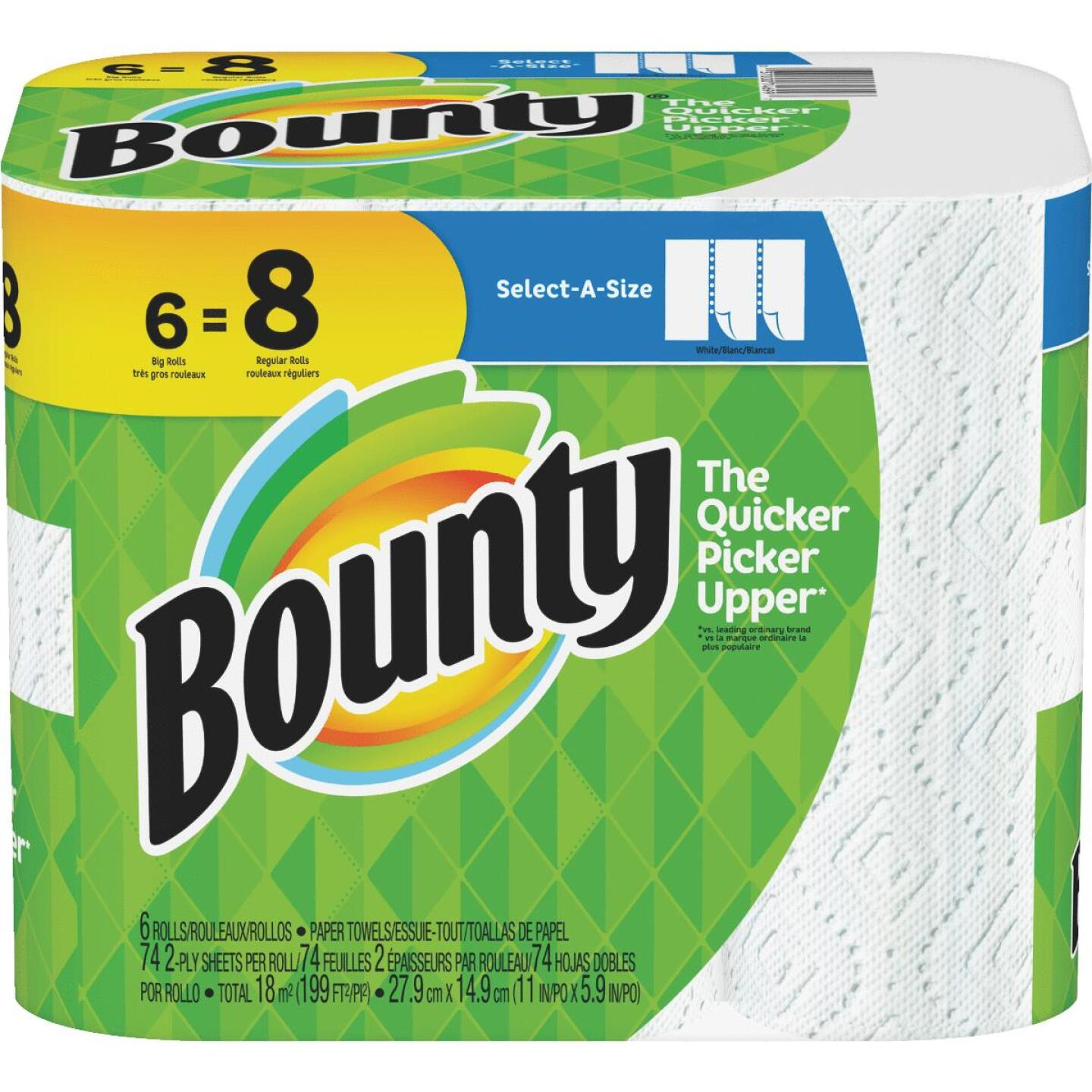 Bounty Select-A-Size Paper Towel (6 Roll) Image 1