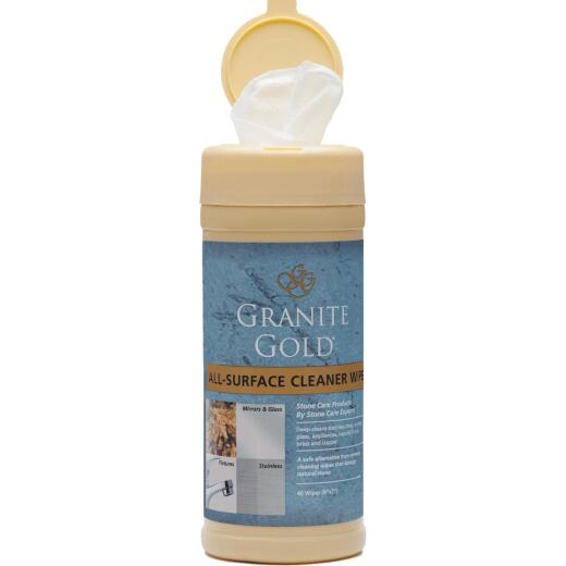Granite Gold All-Surface Cleaning Wipes (40 Count)
