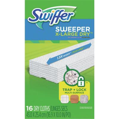 Swiffer Sweeper Professional Dry Cloth Mop Refill (16-Count)