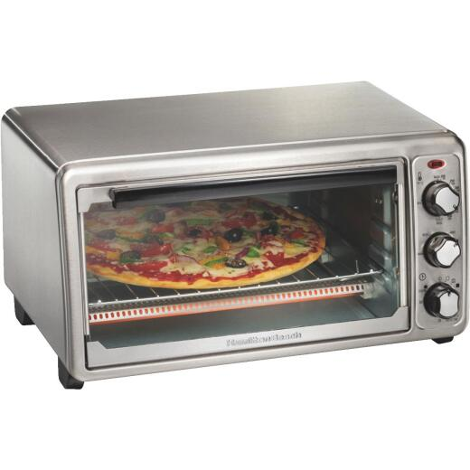 Hamilton Beach 6-Slice 4-Setting Stainless Steel Toaster Oven