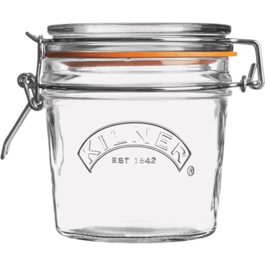 Kilner 12 Oz. Round Clip Top Glass Storage Jar