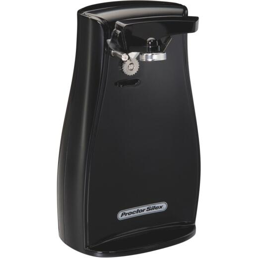 Proctor Silex Power Opener Black Electric Can Opener