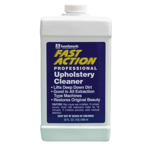 Lundmark 32 Oz. Fast Action Professional Upholstery Cleaner