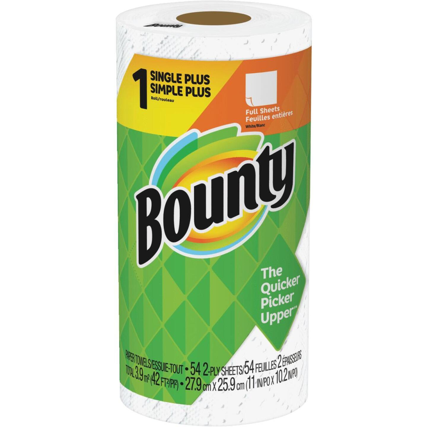 Bounty Single Plus Full Sheet Paper Towel (1-Roll) Image 1