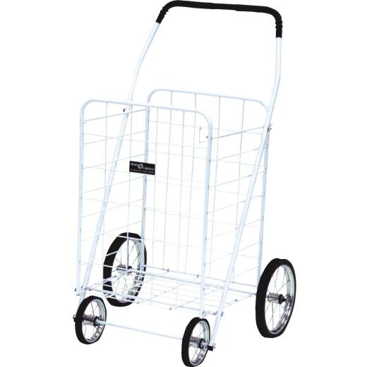 Narita White Jumbo Shopping Cart