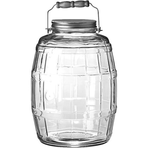 Anchor Hocking 2-1/2 Gal. Barrel Jar
