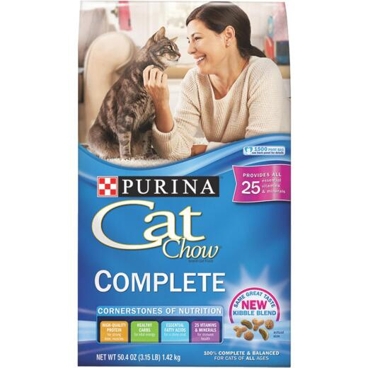 Purina Cat Chow Complete Balance 3.15 Lb. All Ages Cat Food