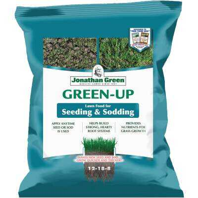 Jonathan Green Green-Up 4.5 Lb. 1500 Sq. Ft. 12-18-8 Seeding & Sodding Lawn Fertilizer