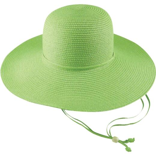 Midwest Quality Glove Women's Green Straw Sun Hat