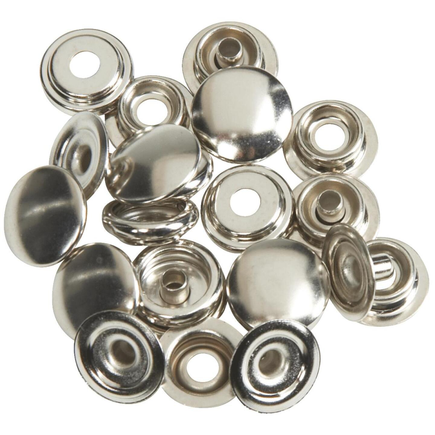 Lord & Hodge Metal Canvas to Canvas Snap Fastener Refill for Canvas (6 Ct.) Image 1