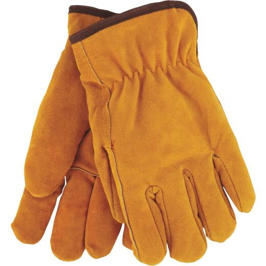 Do it Men's Large Lined Leather Winter Work Glove