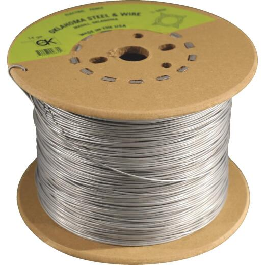 Oklahoma Steel & Wire 1/2-Mile x 14 Ga. Steel Electric Fence Wire