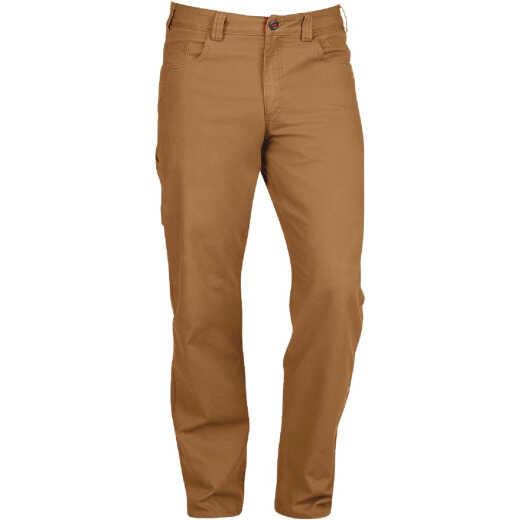 Milwaukee Flex Khaki 36 x 30 Heavy-Duty Work Pants
