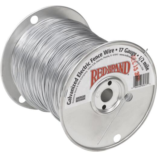 Keystone Red Brand 1/4-Mile x 17 Ga. Steel Electric Fence Wire